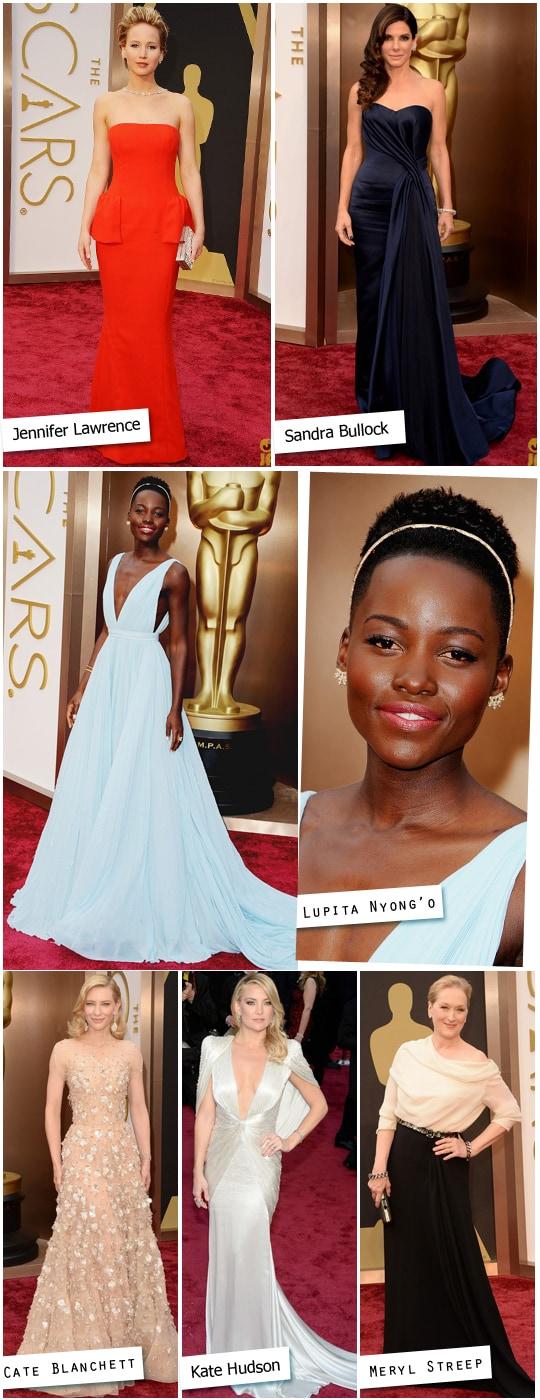famosas Oscar 2014